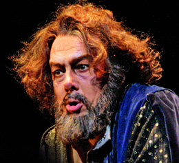 Ferruccio Furlanetto as Boris Godunov at the Lyric Opera of Chicago