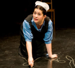 "Sadieh Rifai stars in ""The Amish Project"" at American Theater Company 2011"