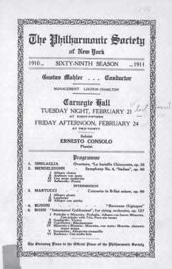 Philharmonic-Society-of-New-York-program