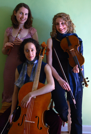 Left to right Wayward Sisters members Anne Timberlake, Anna Steinhoff and Beth Wenstrom