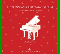 Steinway Christmas Album cover featured image green