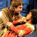 Taming of the Shrew Featured Image Matt Mueller as Petruchio woos Ericka Ratcliff as Katharina Short Shakespeare! Chicago Shakespeare Theater 2012 credit Liz Lauren