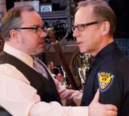 The Price by Arthur Miller at Raven Theatre Chicago John Steinhagen Chuck Spencer credit Dean LaPrairie