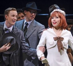 42nd Street Stratford Shakespeare Festival 2012 Jennifer Rider-Shaw as Peggy Sawyer Kyle Blair as Billy Lawlor and company credit David Hou