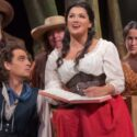 Matthew Polenzani and Anna Netrebko in L'Elisir d'Amore at Metropolitan Opera credit Ken Howard
