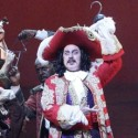 Brent Barrett as Captain Hook in Peter Pan on tour at Cadillac Palace Theatre Broadway in Chicago 2013