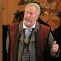 James Morris as Hans Sachs in Die Meistersinger Chicago Lyric Opera 2013 credit Dan Rest
