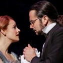Teal Wicks as Emma Carew, Constantine Maroulis as Henry Jekyll in JEKYLL & HYDE Broadway in Chicago 2013 credit Chris Bennion