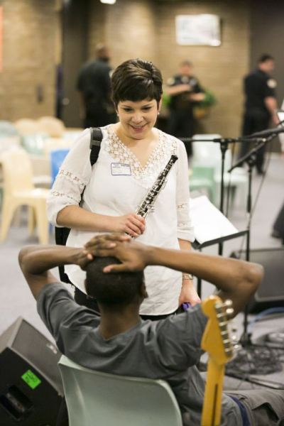 Youths At Detention Center Set Lives To Music With Aid Of Cso