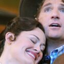 Ashley Brown as Laurey with John Cudia as Curly in Oklahoma at Lyric Opera of Chicago credit Dan Rest