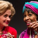 Kara Zediker as Gloria Mitchell and Tamberla Perry as Vera Stark in By the Way, Meet Vera Stark by Lynn Nottage at Goodman Theatre credit Liz Lauren