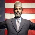 Kareem Bandealy as Abdullah Kahn in Blood and Gifts at TimeLine Theatre credit Lara Goetsch