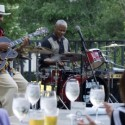 Curtis Robinson Trio in the summer terrace jazz Tuesday credit Justin Wambold