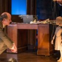 Anne Frank as a marionette is the center of attention in 'Compulsion' at Next Theatre. (Michael Brosilow)
