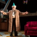 Mike Nussbaum at the center of a conflicted birthday party in 'Smokefall' by Noah Haidle at Goodman Theatre. (Liz Lauren)