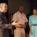 Michael Sherwin, Frank Pete and Kelly Owens in 'Clybourne Park' by Bruce Norris Redtwist Theatre 2013 (Kimberly Loughlin)