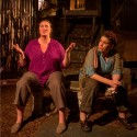 Kirsten Fitzgerald and Meighan Gerachis in 'Solstice' at A Red Orchid 2014 (Michael Brosilow)