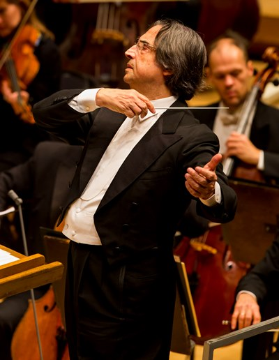 Chicago Symphony music director Riccardo Muti presides over Schubert's Mass in A-flat. (Todd Rosenberg)