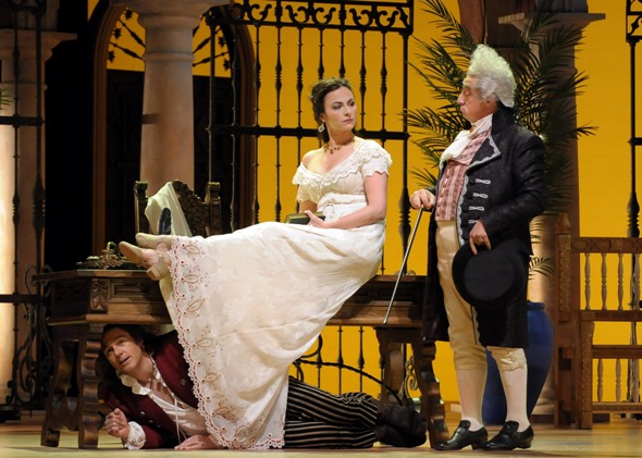 Barber Of Seville Summary : Review: ?The Barber of Seville,? at the Lyric Opera of Chicago ...