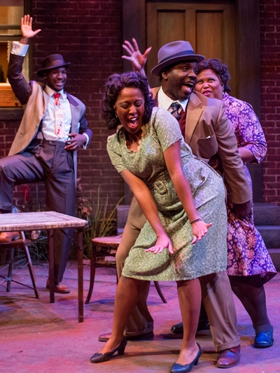 'Seven Guitars' by August Wilson at Court Theatre. (Michael Brosilow)