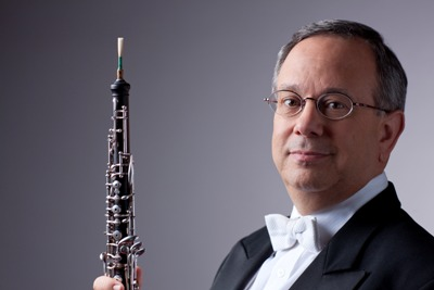 Chicago Symphony Orchestra assistant principal oboe Michael Henoch (Todd Rosenberg)