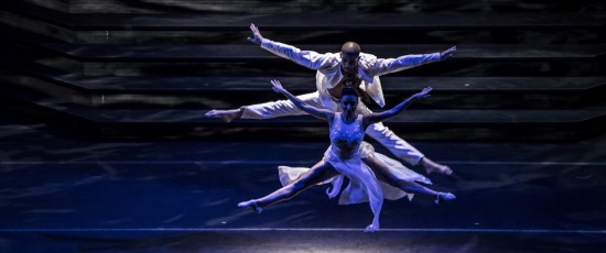 Dancers take flight in 'Heartbeat of Home.' (Courtesy Broadway in Chicago)