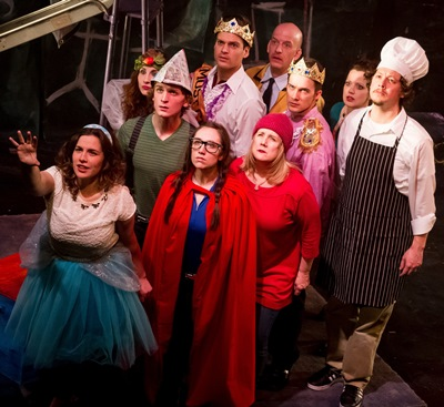 The fairy tale characters band together when danger threatens them all in Sondheim's musical 'Into the Woods.' (Matthew Gregory Hollis)