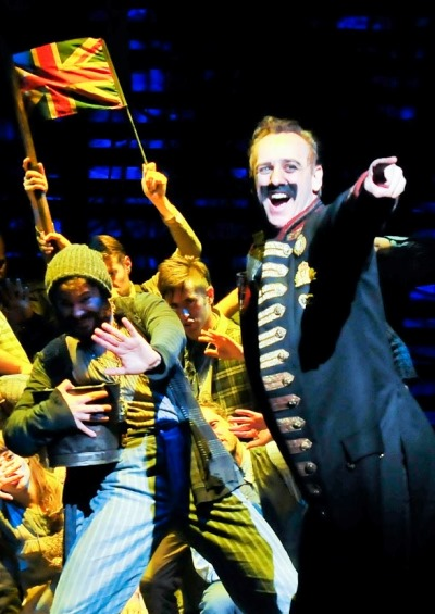Black Stache (John Sanders) is the bumbling pirate captain in 'Peter and the Starcatcher.' (Jenny Anderson)