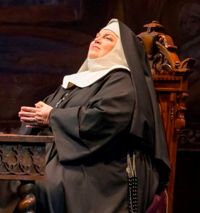 Christine Brewer is Mother Abbess in 'The Sound of Music' by Rodgers and Hammerstein at Lyric Opera of Chicago 2014 (Todd Rosenberg)
