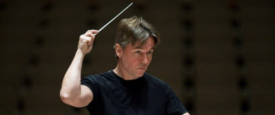 Conductor Esa-Pekka Salonen leads the Chicago Symphony in works by Sibelius, Bartók and Clyne. (Courtesy Chicago Symphony Orchestra)