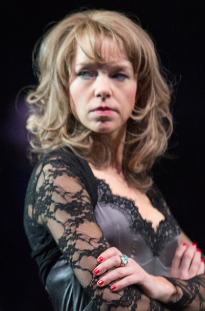 Anna Maxwell Martin is Lear's demonic daughter Regan. (Mark Douet)