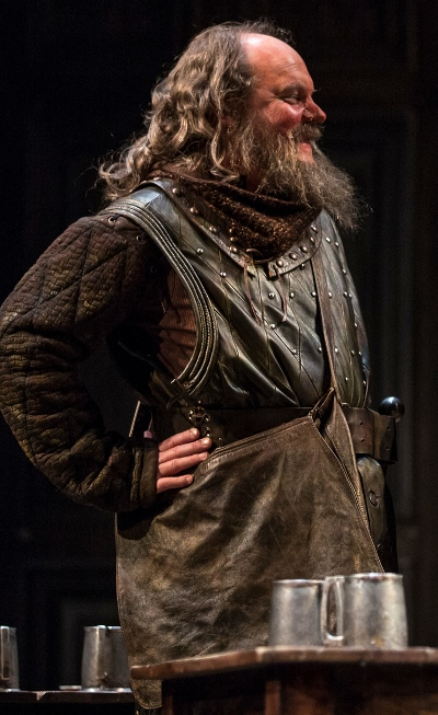 Brett Tuomi plays Bardolph in Chicago Shakespeare's 'Henry V.' (Liz Lauren)