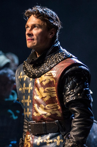 Harry Judge portrays King Henry V at Chicago Shakespeare Theatre. (Liz Lauren)