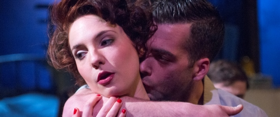 Jane (Eliza Stoughton) and her lover Tye (Joel Reitsma) are part of the motley band in the Vieux Carré. (Dean LaPrairie)
