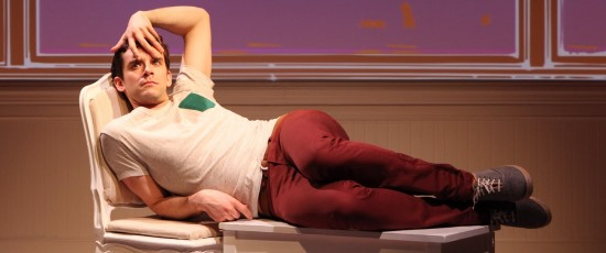 Michael Urie in 'Buyer & Cellar' at Broadway Playhouse. (Sandra Coudert)