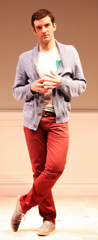 The one-man show 'Buyer & Cellar' is 100 minutes of nonstop talking, says actor Michael Urie. (Sandra Coudert)