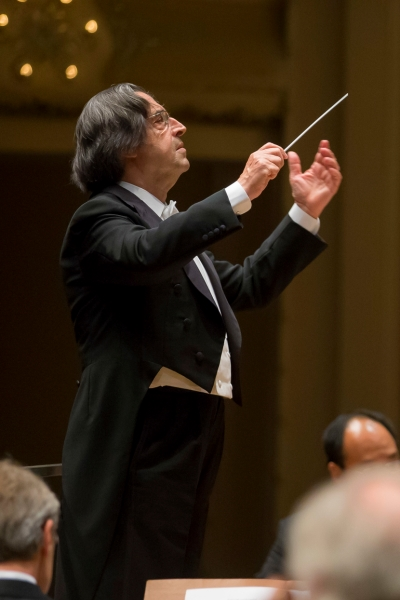 CSO music director Riccardo Muti leads a performance of Mahler's First Symphony. (Todd Rosenberg)