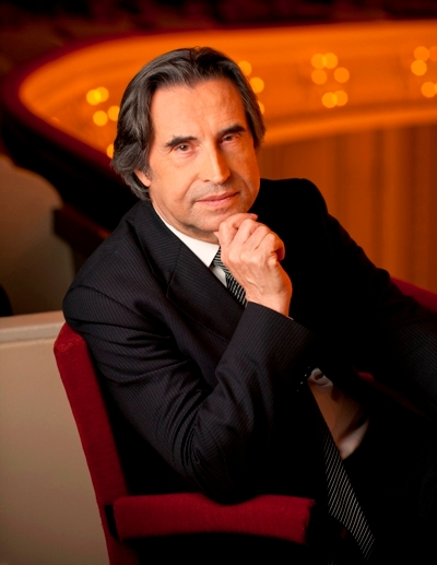 Riccardo Muti, music director of the Chicago Symphony Orchestra (Photo portrait, Todd Rosenberg)