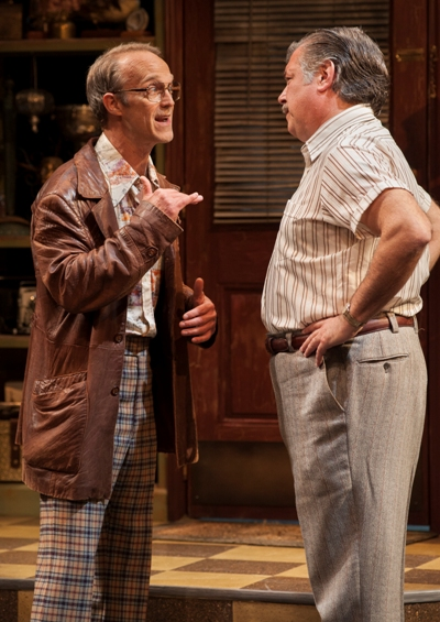 Teach (James Ridge) thinks he's one step ahead of everybody in Mamet's 'American Buffalo' at American Players Theatre. (Zane Williams)