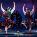 Clan dancers in 'Brigadoon' at Goodman Theatre 2014 (Liz Lauren)