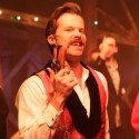 Eric Lindahl as John Wilkes Booth in ASSASSINS Kokandy Productions (Joshua Albanese)