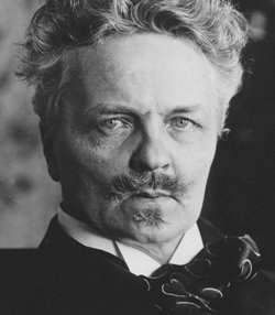 Playwright August Strindberg