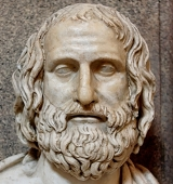 Bust of Euripides (Clementino)