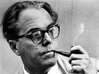 Swiss playwright Max Rudolf Frisch, author of 'The Arsonists.' (Wiki Commons)