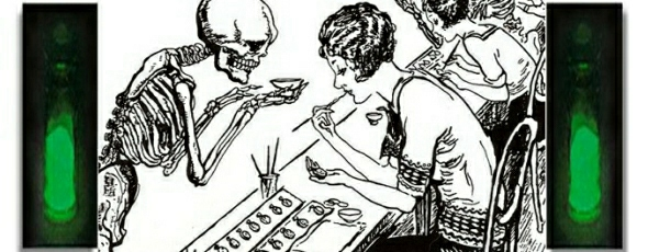 The closely watched saga of the dying radium girls was the subject of this 1928 cartoon. (gvsu.edu)