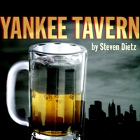 American Blues Theater's poster art for Steven Dietz' surreal mystery 'Yankee Tavern.'