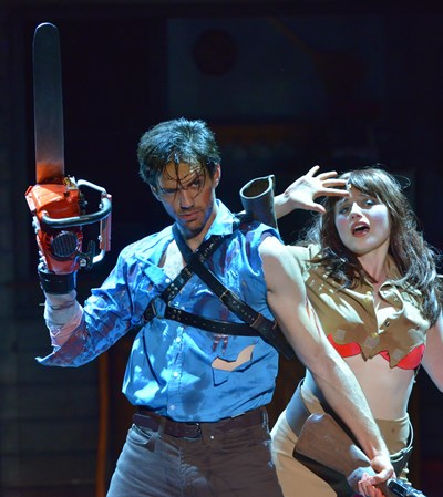'Evil Dead the Musical' opens the Broadway in Chicago season. (Peter Coombs)
