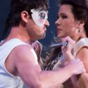 Mariusz Kwiecien and Marina Rebeka in 'Don Giovanni,' production by Robert Falls, Lyric Opera Chicago (Todd Rosenberg)