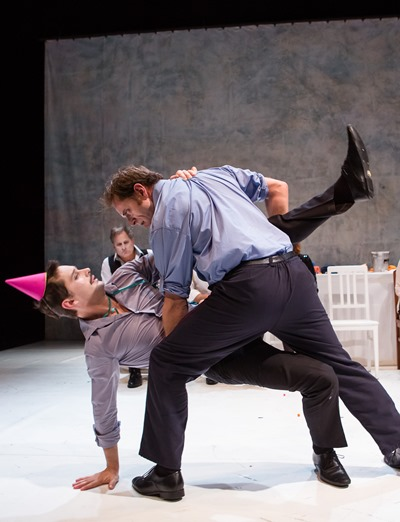 Something like ballet punctuates the lunacy of 'Ionesco Suite' at Chicago Shakespeare Theater. (Agathe Pouoponey)