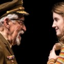 The Colonel (Mike Nussbaum) dotes on his granddaughter Beauty (Catherine Combs) in 'Smokefall' at Goodman Theatre. (Liz Lauren)